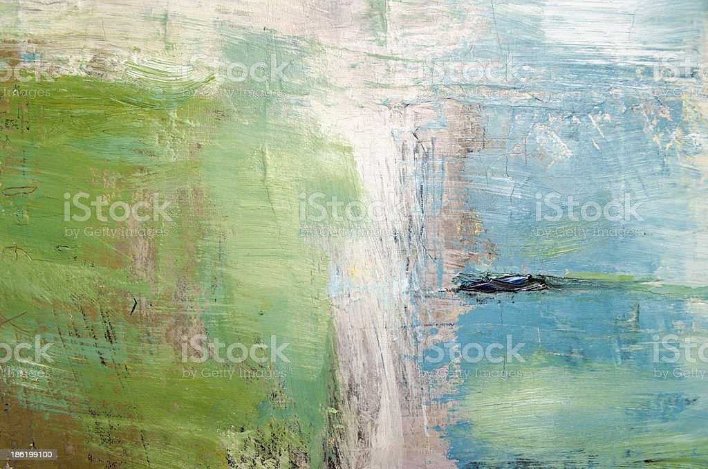 Oil painting abstract texture background stock photo