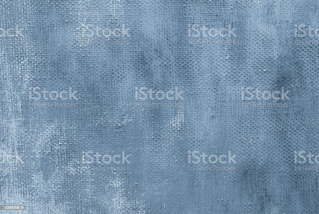 Oil painting blue abstract background stock photo