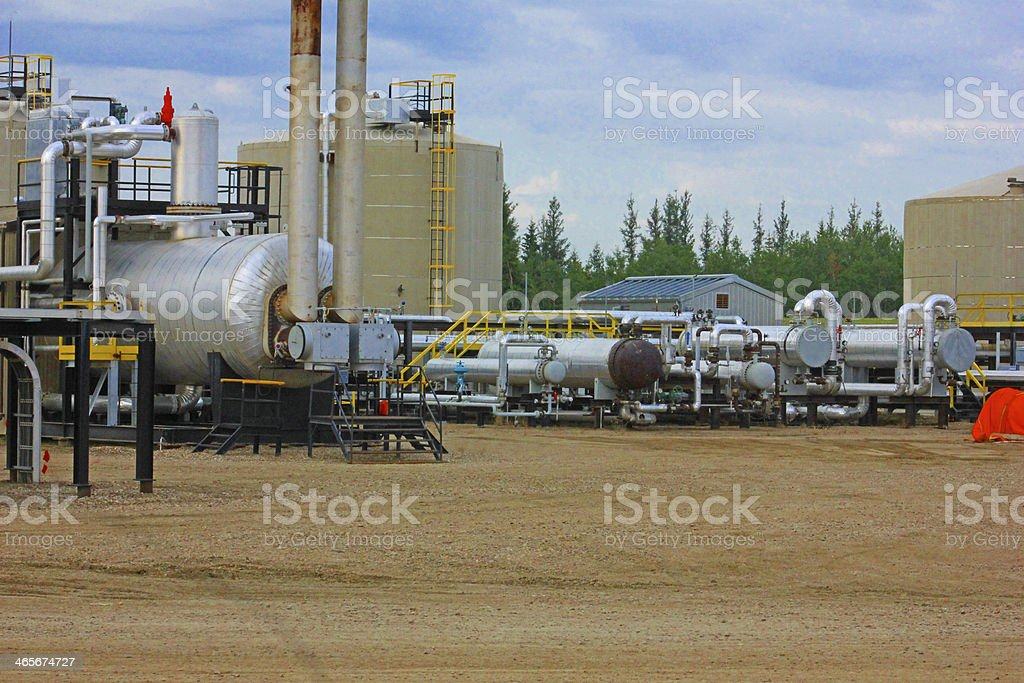 Oil Patch royalty-free stock photo