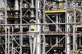 oil petrolium manufacturing industrial plant
