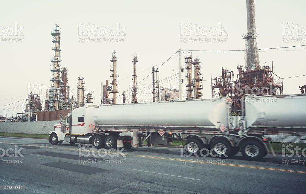 Oil Pickup stock photo