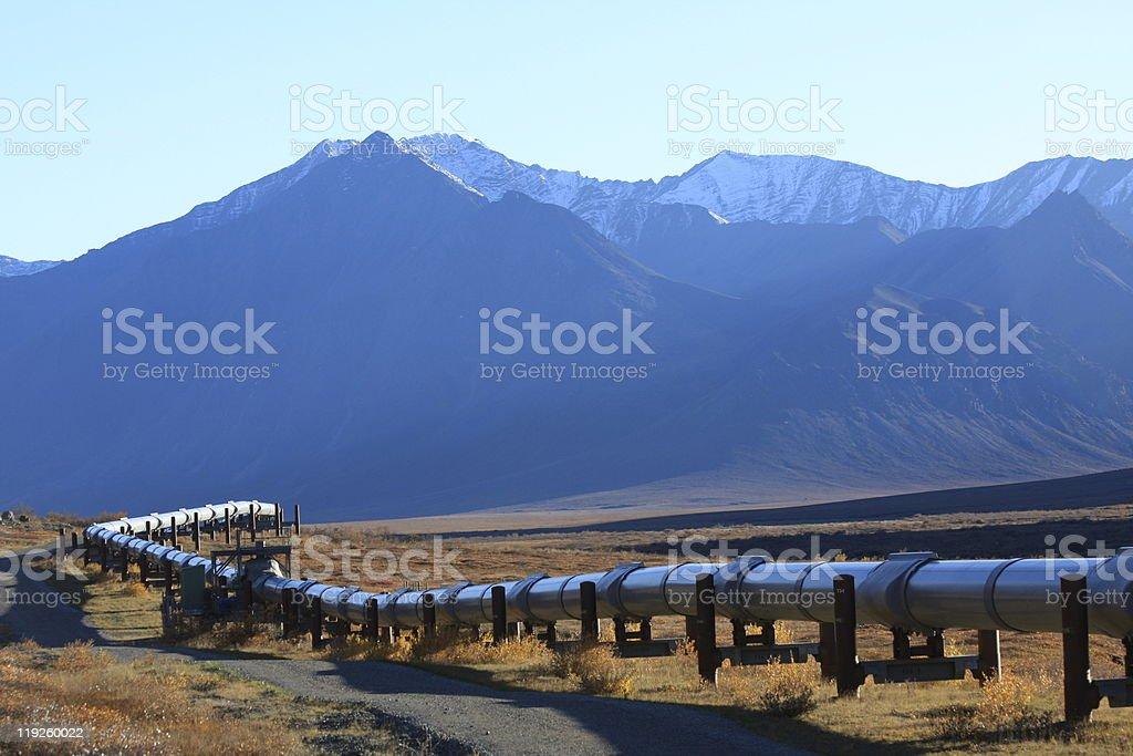 Oil Pipeline 01 stock photo