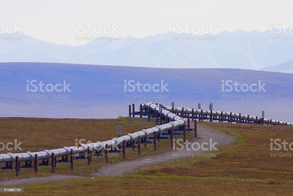 Oil Pipeline stock photo