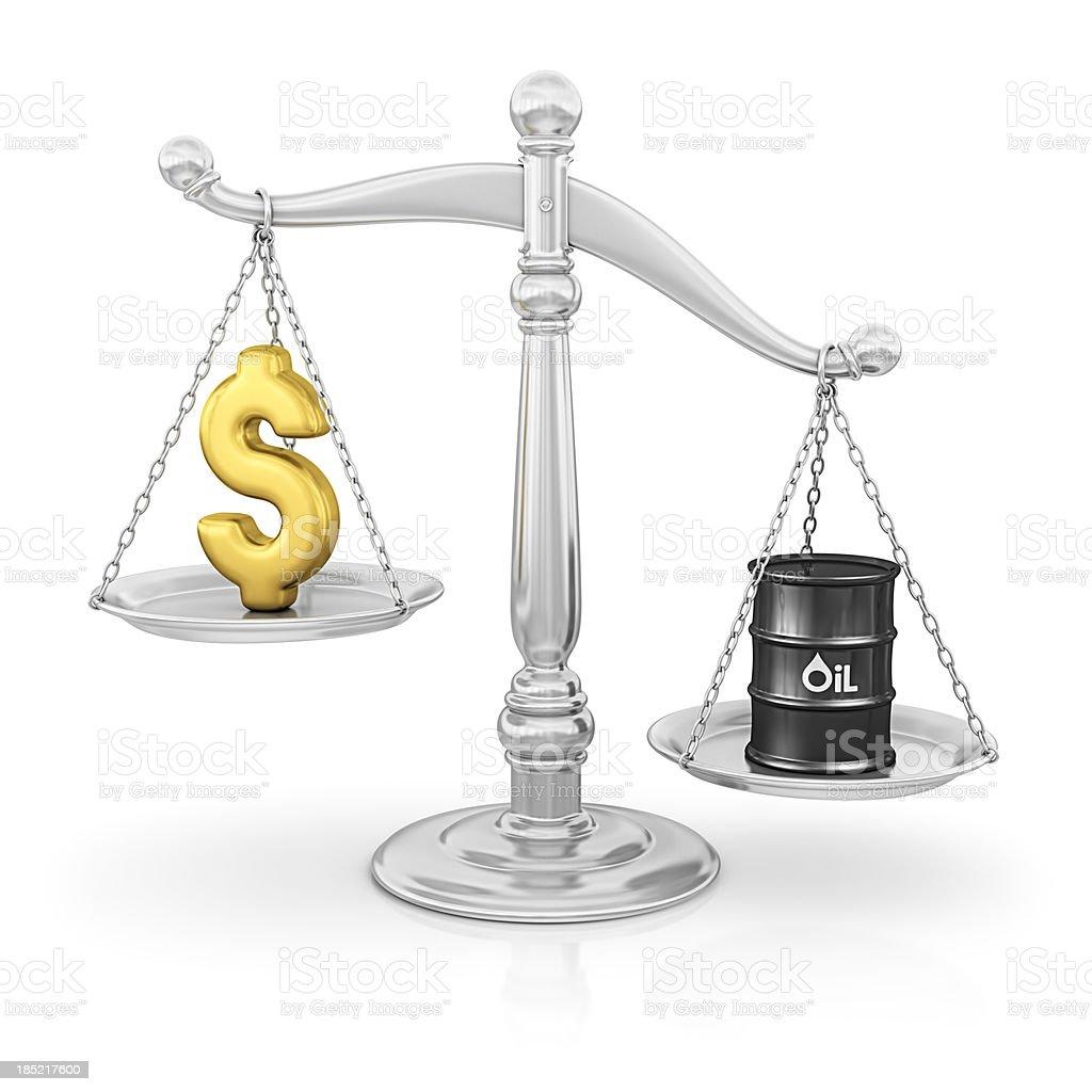 oil price royalty-free stock photo