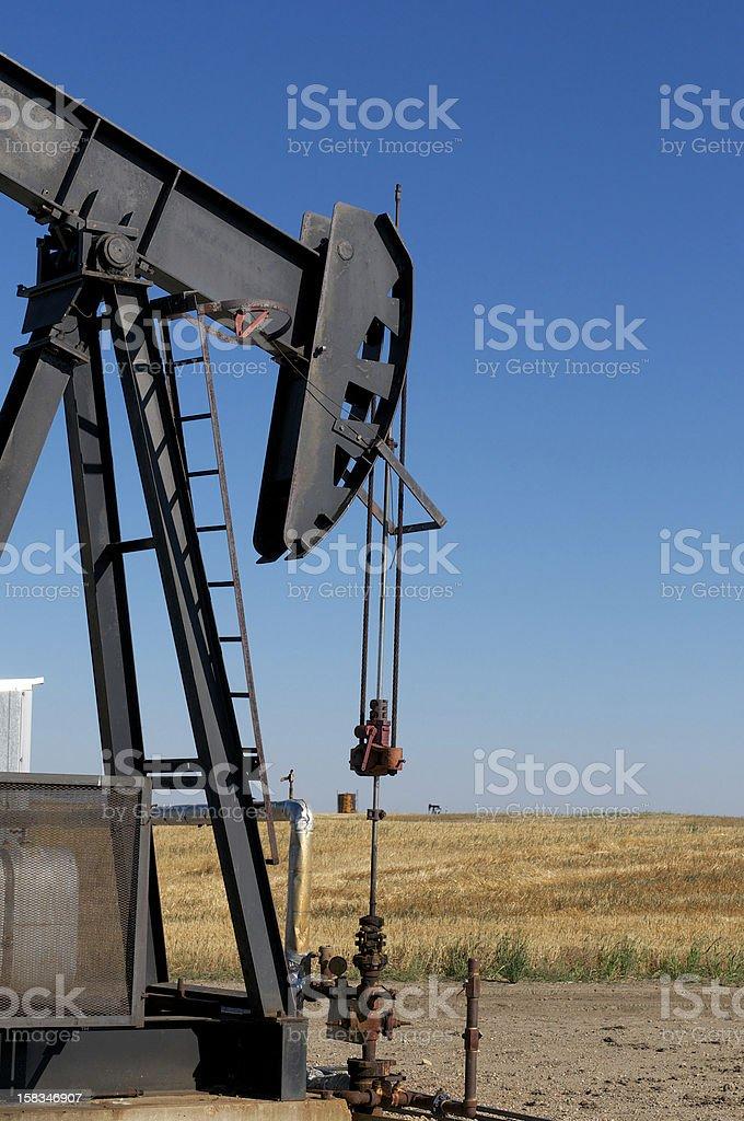 Oil Pump Closeup royalty-free stock photo