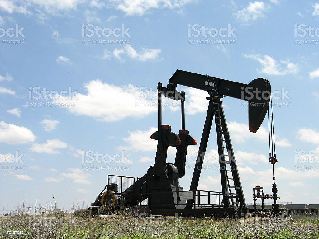 Oil Pump Side stock photo