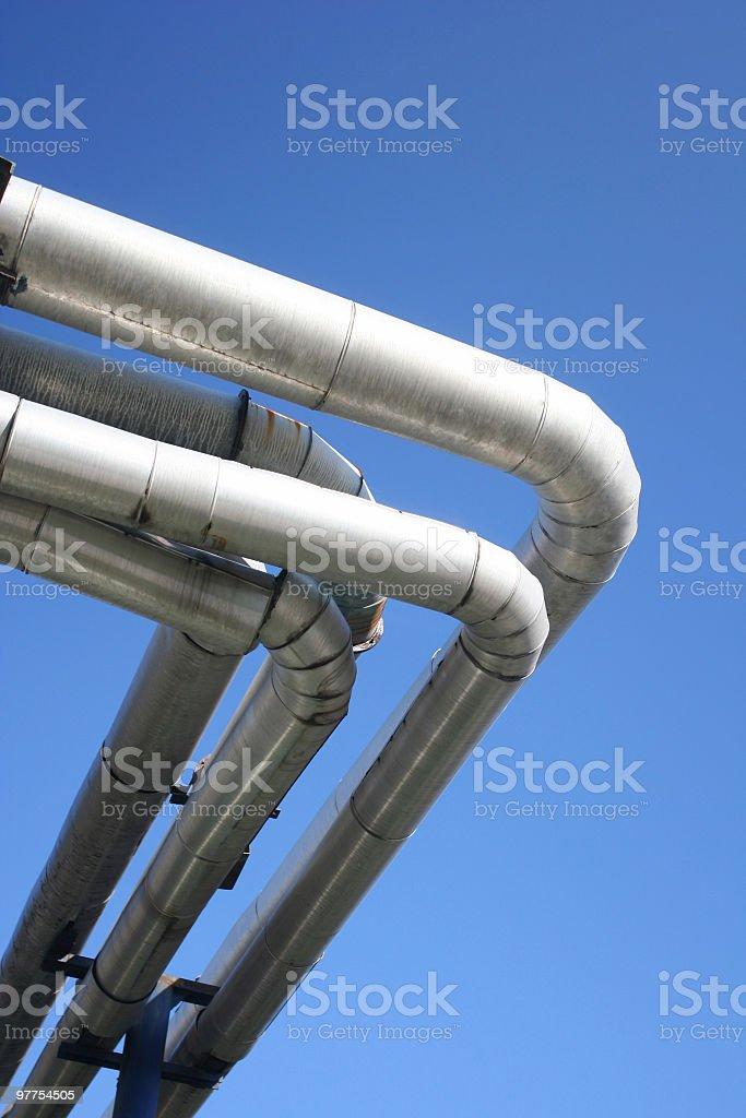 Oil rafinery stock photo