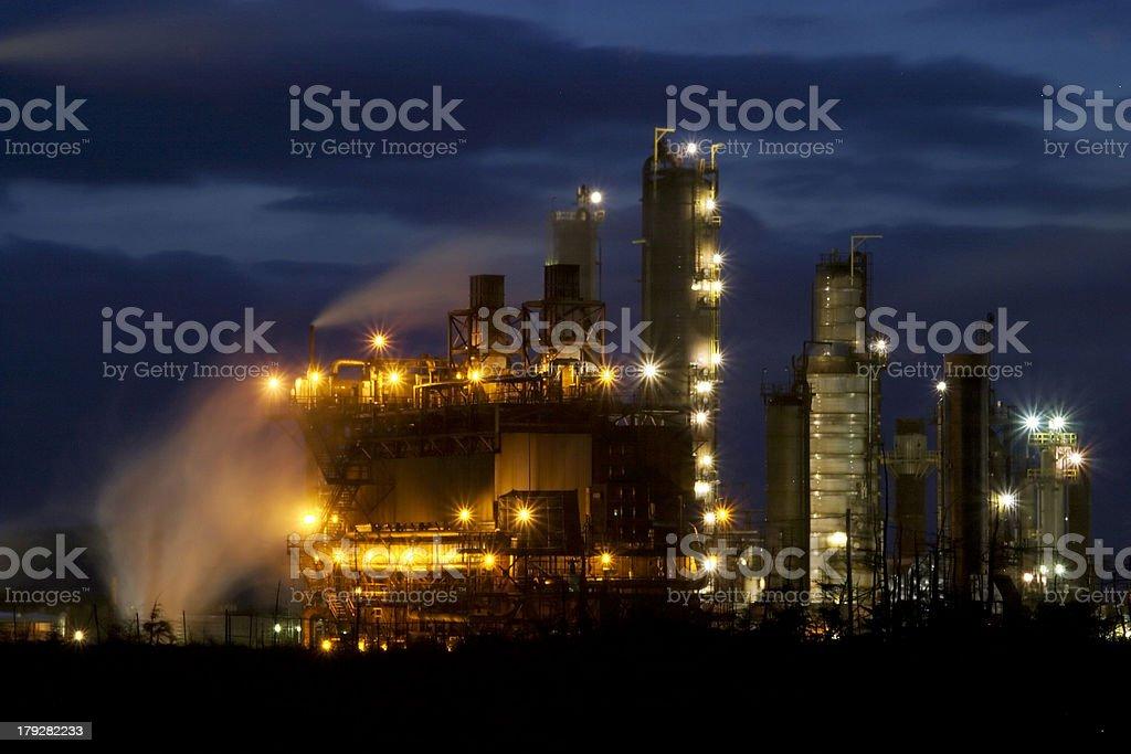 Oil Refinary royalty-free stock photo