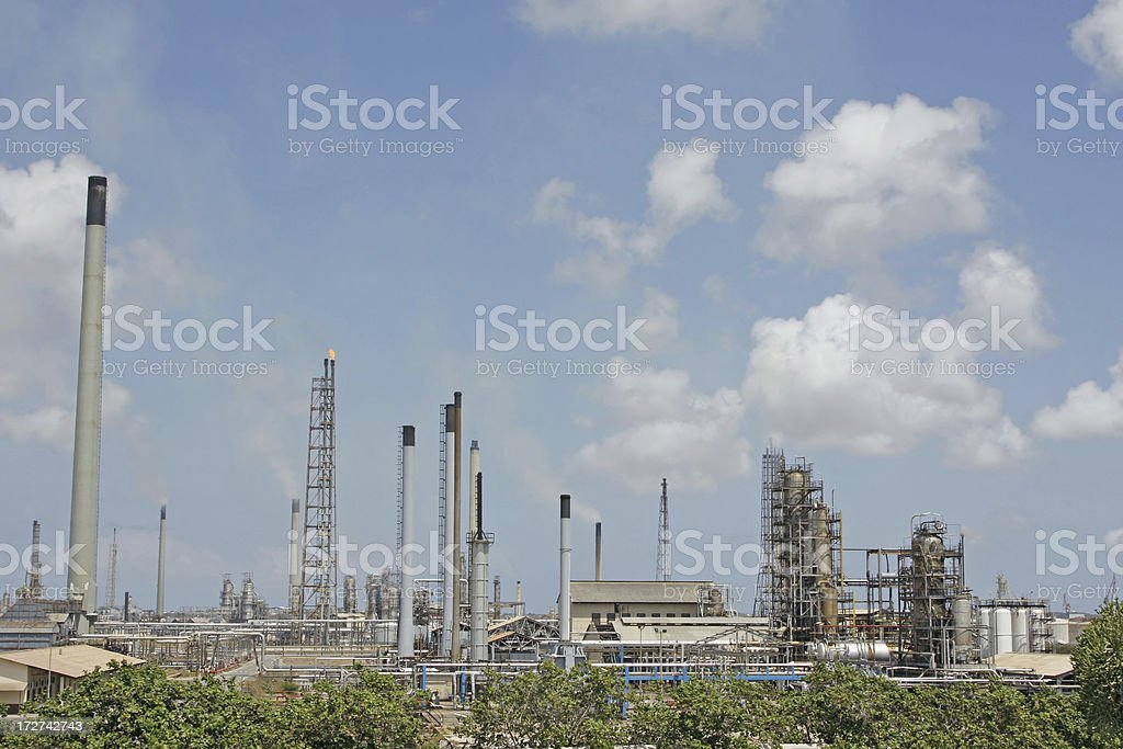 Oil refinery # 8 royalty-free stock photo