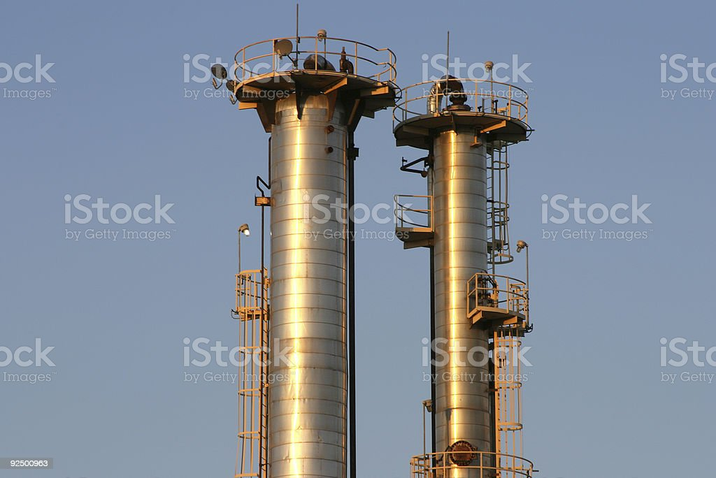 Oil Refinery #6 royalty-free stock photo