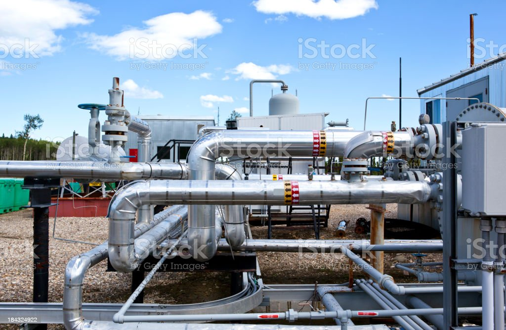 Oil Refining stock photo