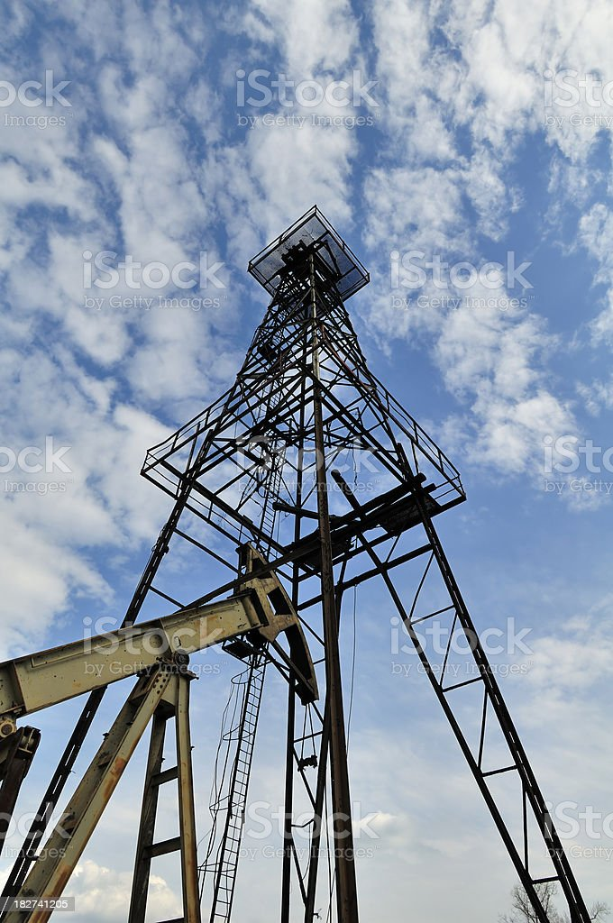 Oil Resource royalty-free stock photo