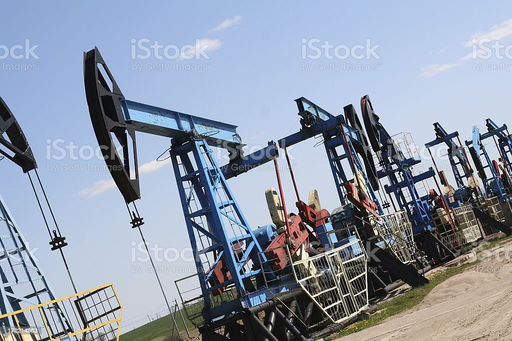 oil resources stock photo