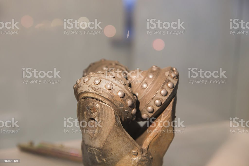 oil rig drill bit royalty-free stock photo
