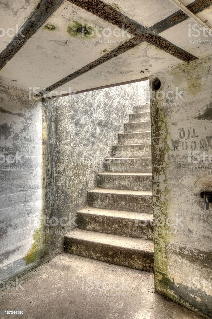 Oil Room royalty-free stock photo