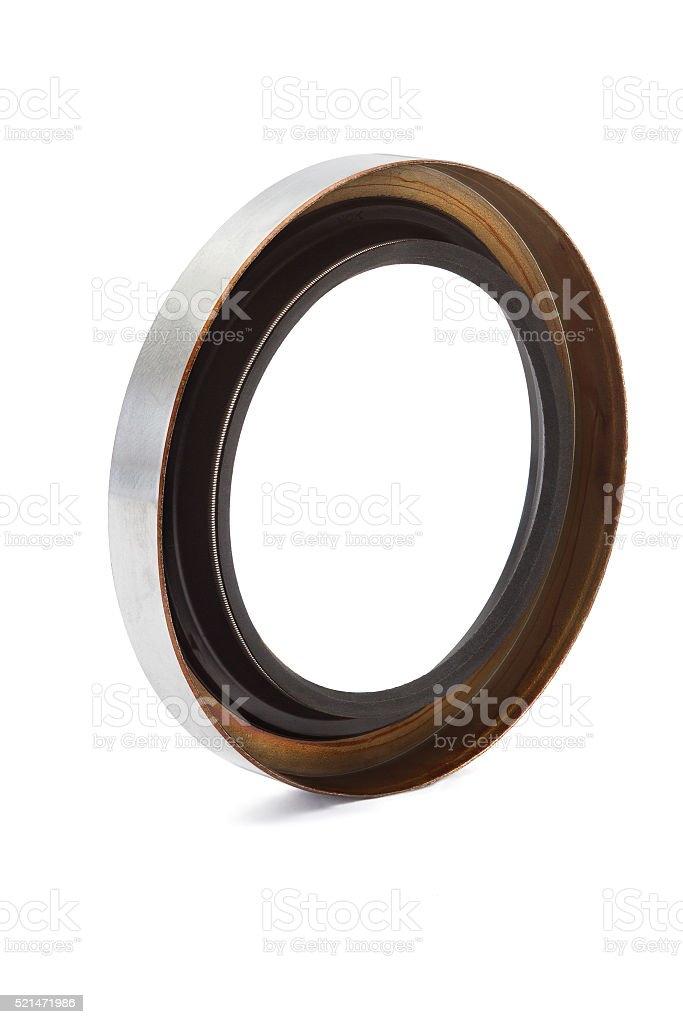 Oil seal stock photo