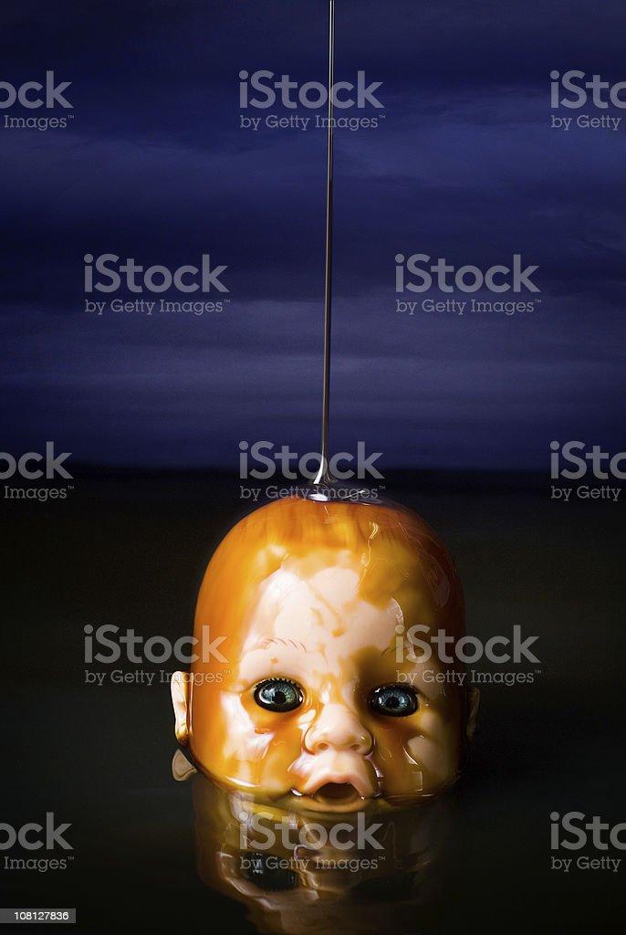 Oil Slick Baby royalty-free stock photo