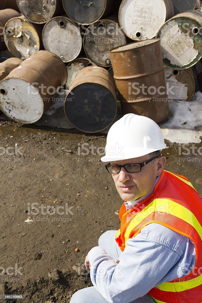 Oil Sludge royalty-free stock photo