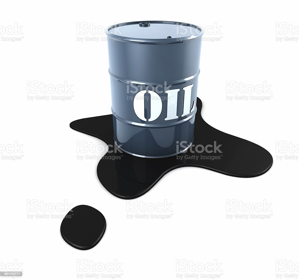 Oil Spill royalty-free stock photo