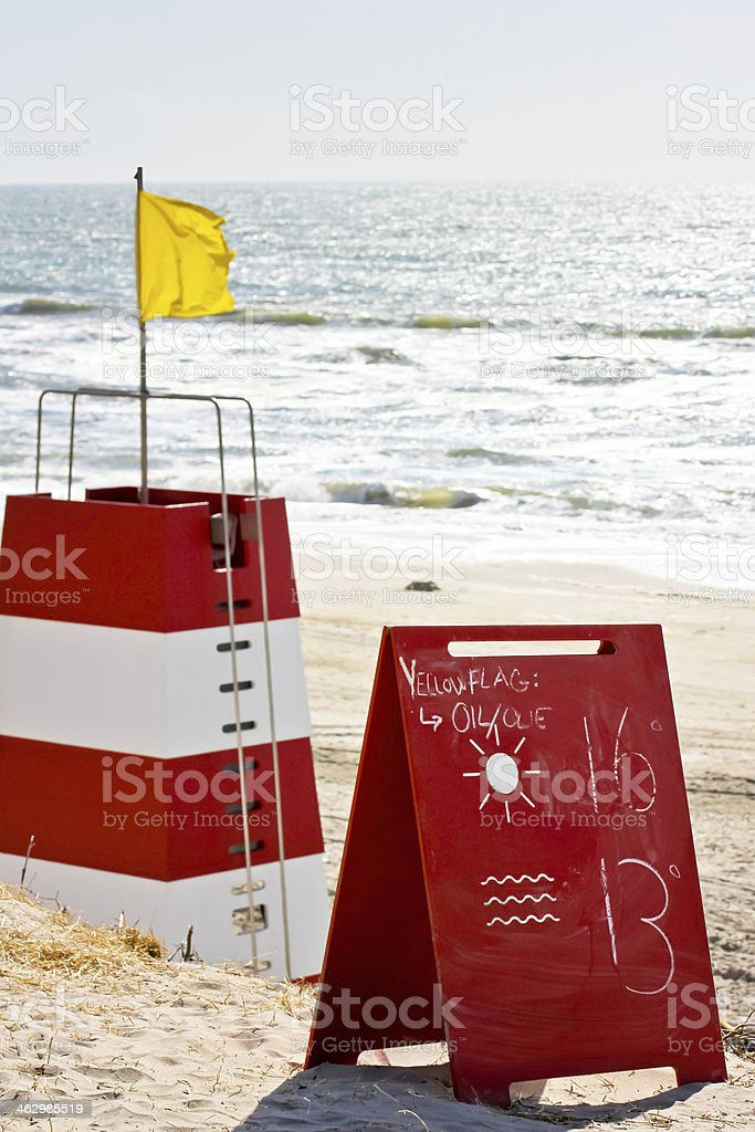 oil spill warning royalty-free stock photo