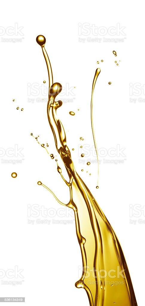 oil splashing stock photo