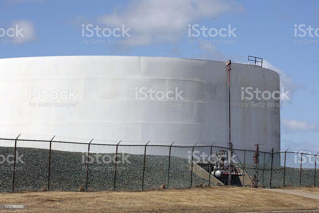 Oil Storage Tank royalty-free stock photo