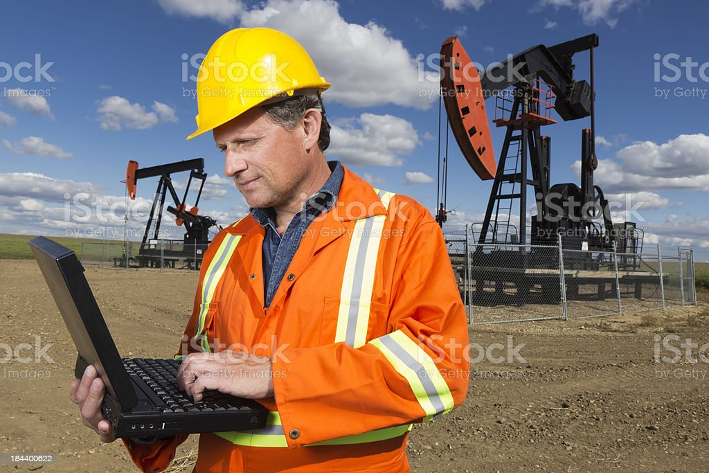 Oil Surfing royalty-free stock photo
