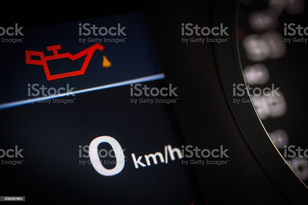 Oil Symbol In A Car Stock Photo 538592964 Istock