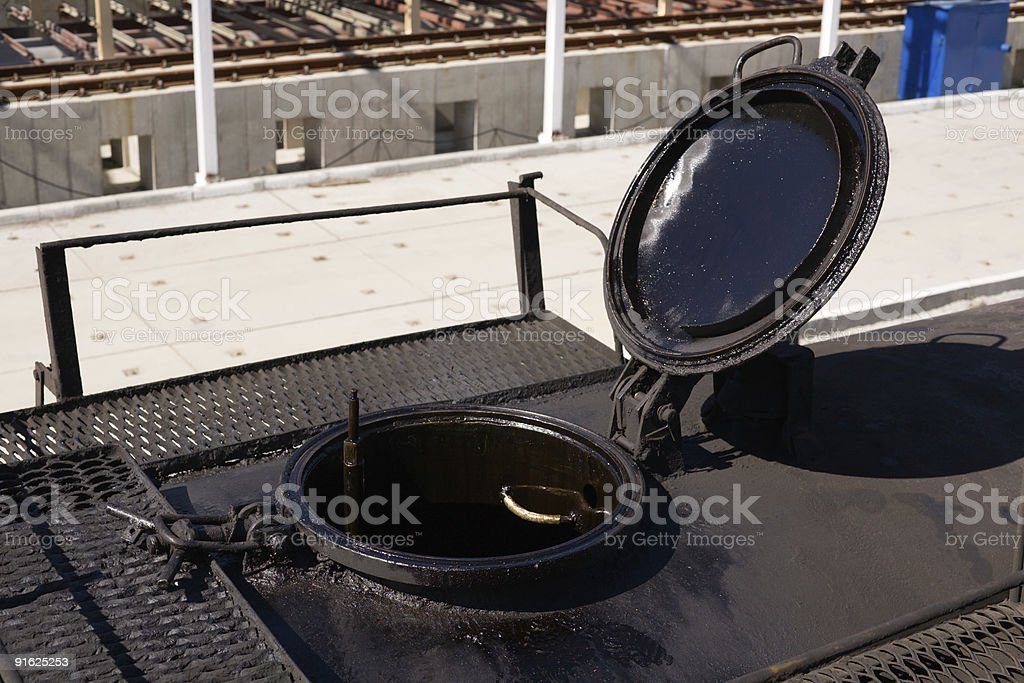oil tank railroad car royalty-free stock photo