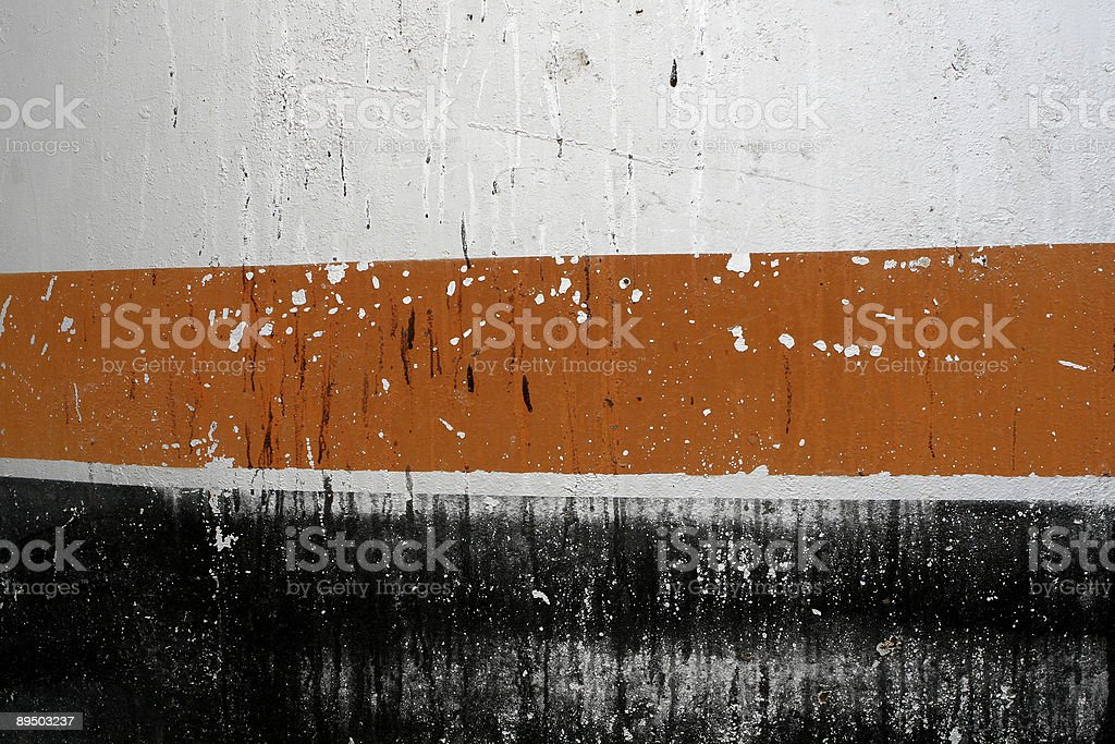 Oil Tank Side royalty-free stock photo