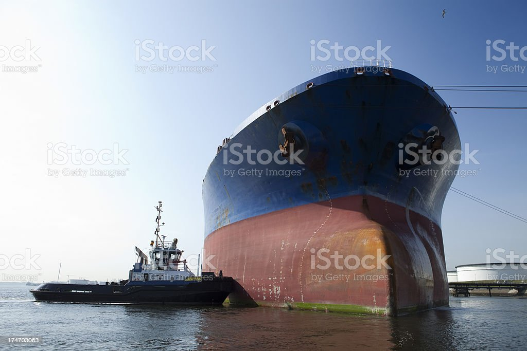 Oil tanker royalty-free stock photo