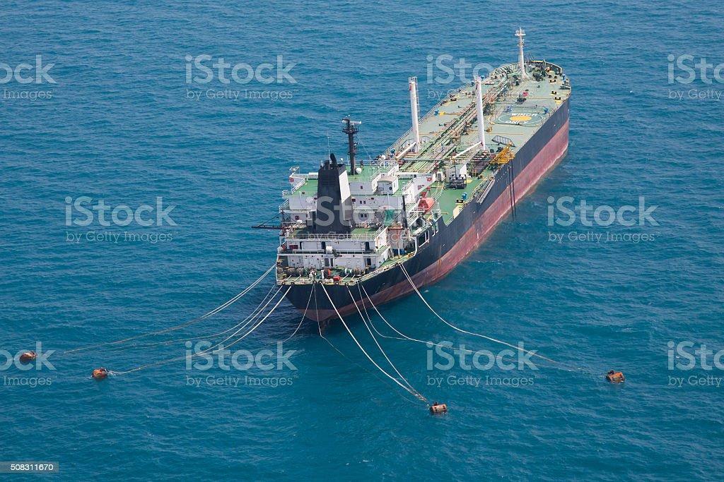 Oil Tanker stock photo