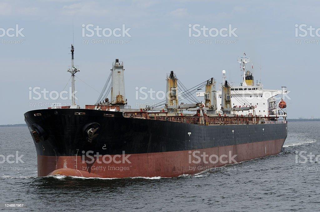 Oil Tanker Ship royalty-free stock photo