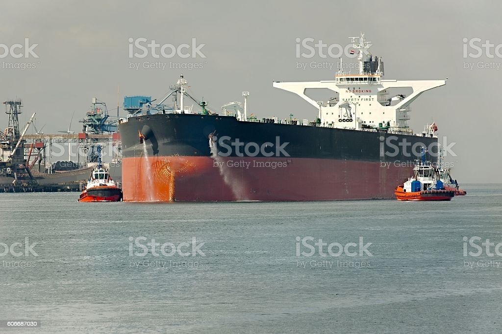 Oil Tanker Ship stock photo