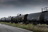Oil tankers on the tracks
