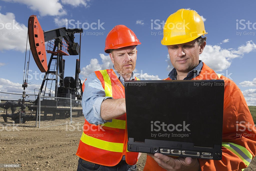 Oil Technology royalty-free stock photo