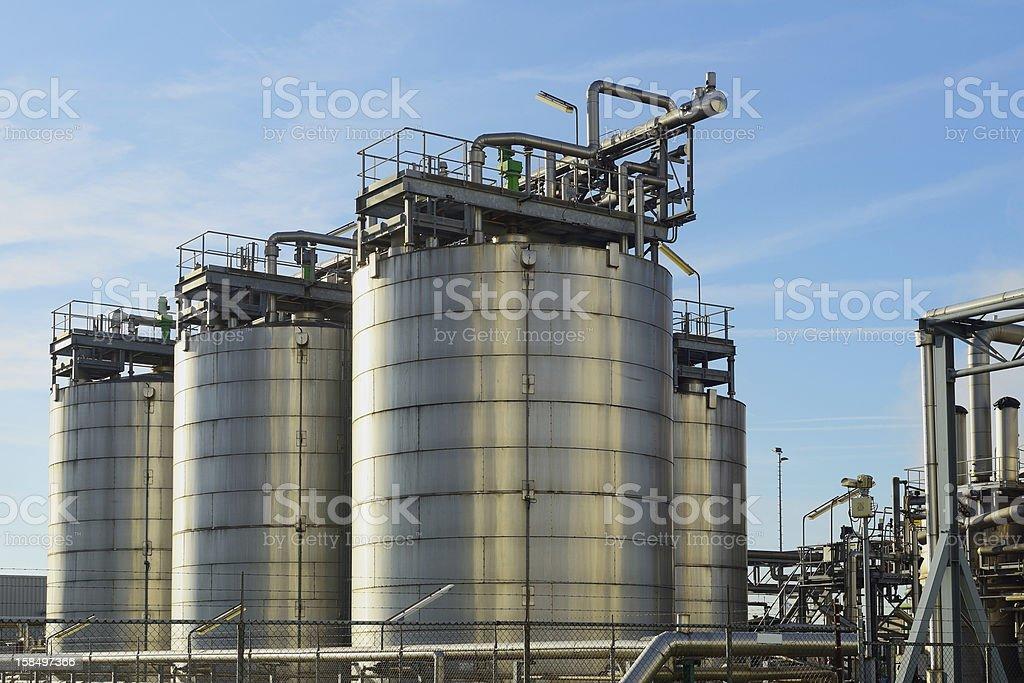 oil terminal royalty-free stock photo