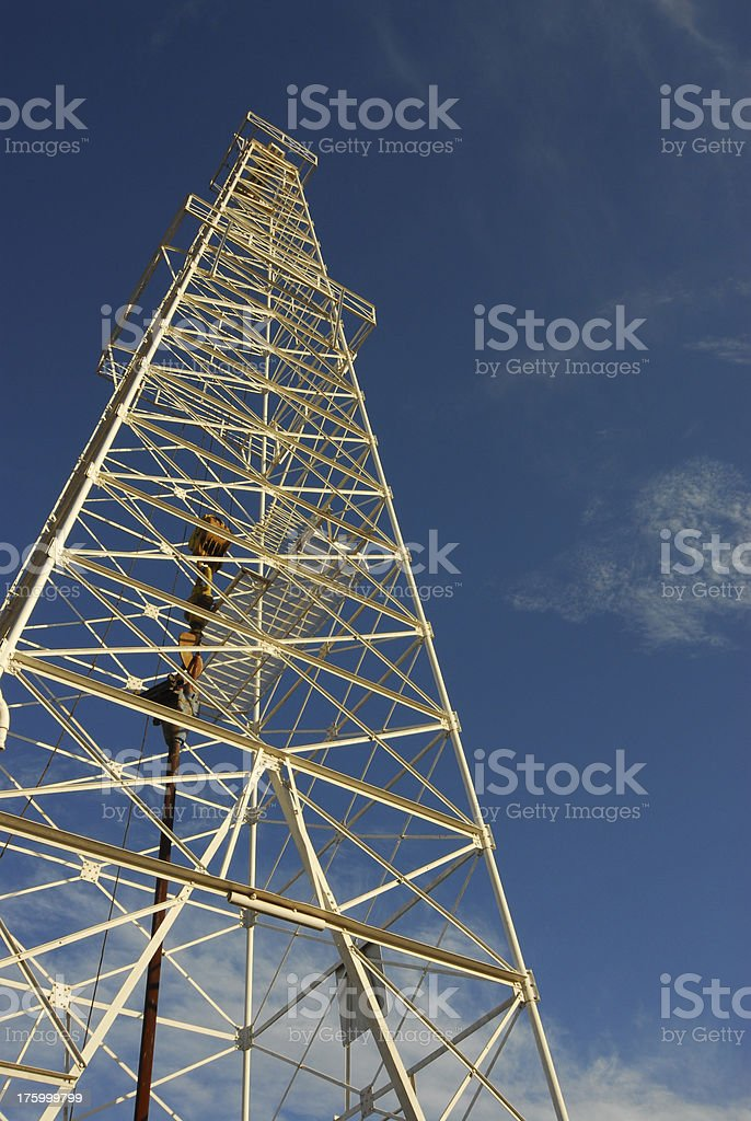 Oil Tower 1 stock photo