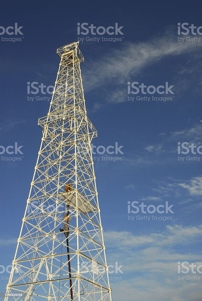 Oil Tower 2 stock photo