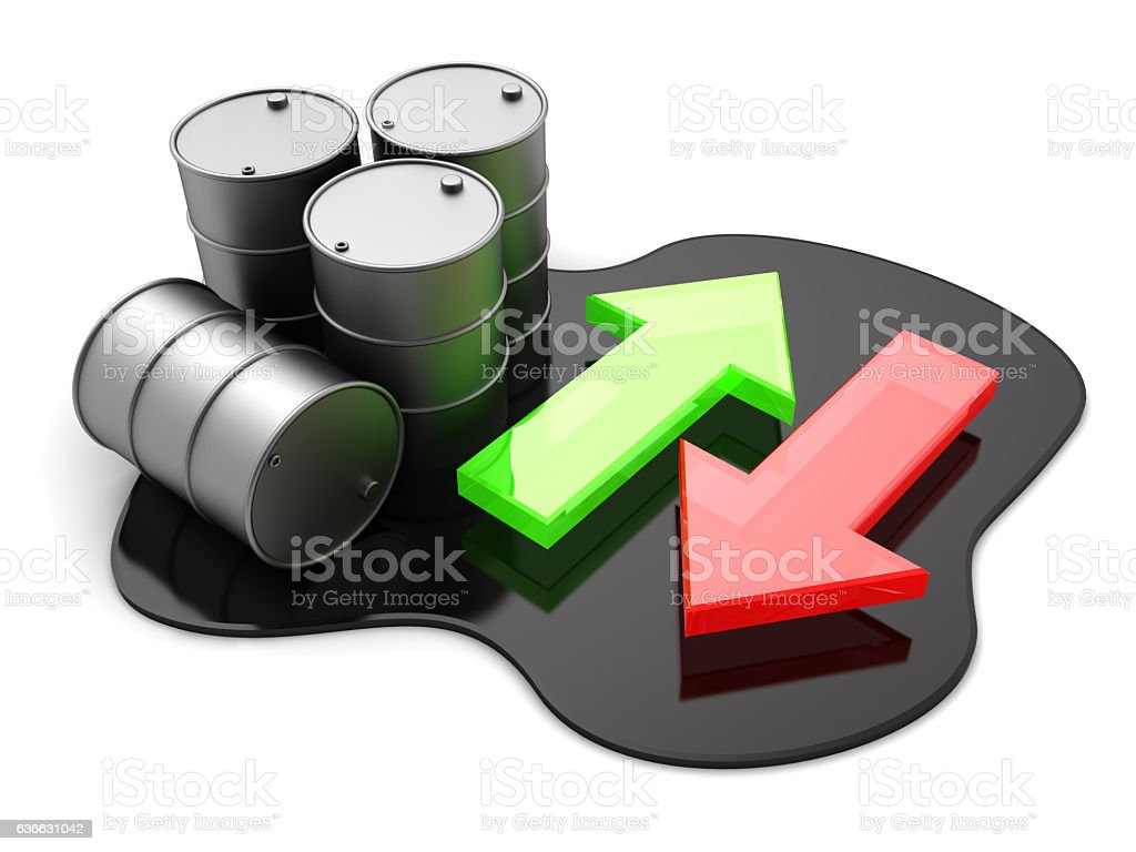 oil trading stock photo
