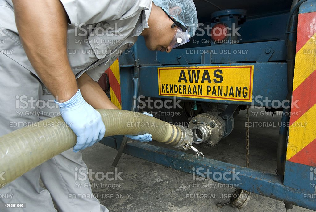 Oil transport royalty-free stock photo