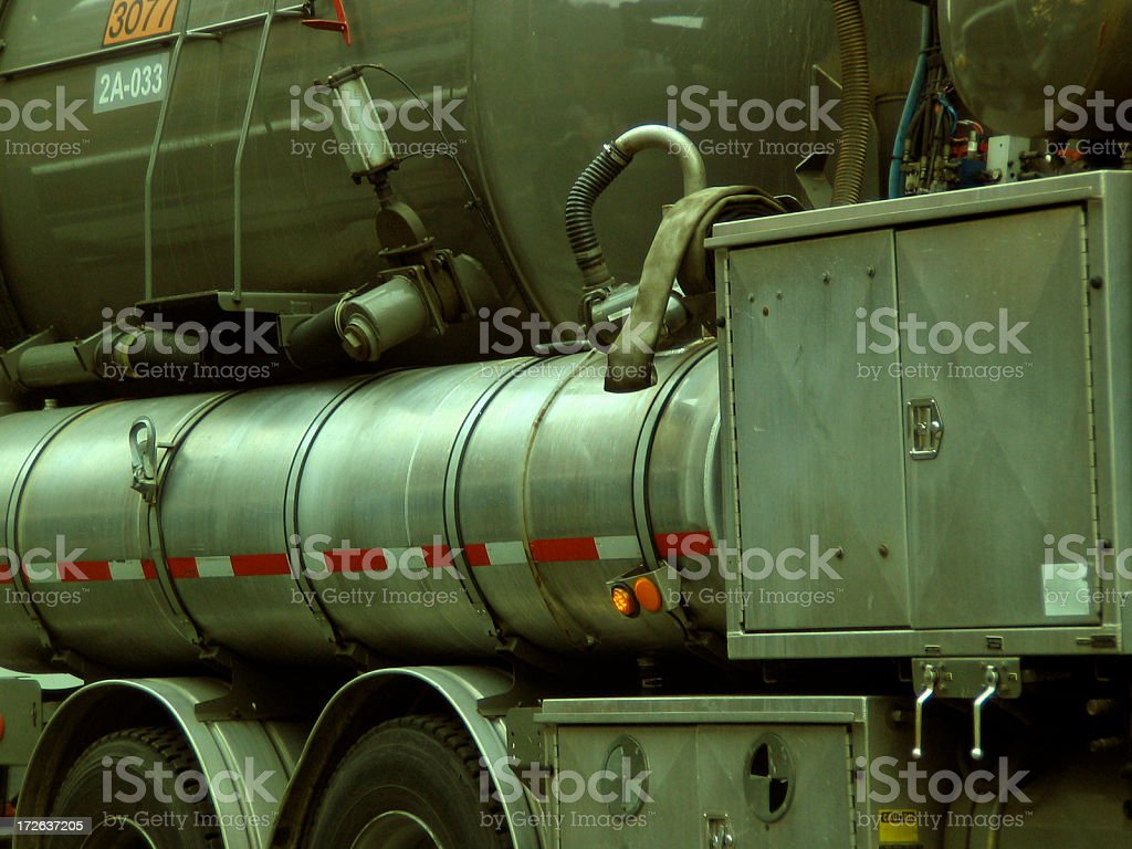 Oil Truck royalty-free stock photo