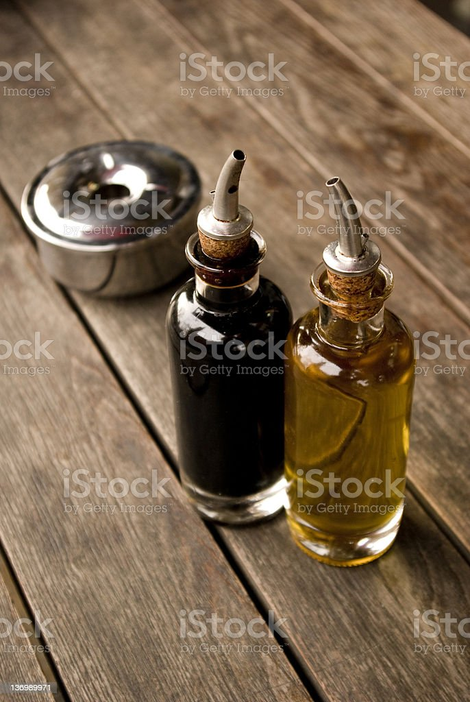 Oil & Vinegar royalty-free stock photo