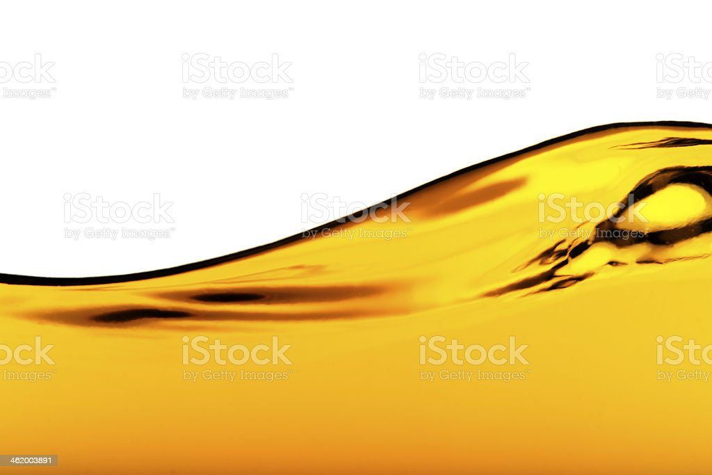 Oil Wave stock photo
