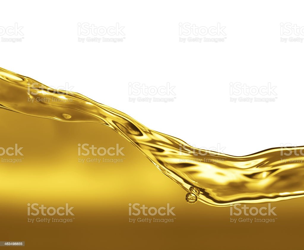 Oil Wave royalty-free stock photo