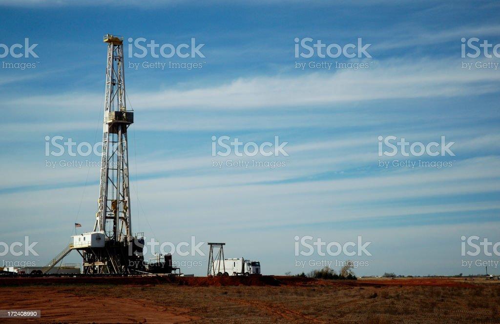 Oil Well 2 Horizontal royalty-free stock photo