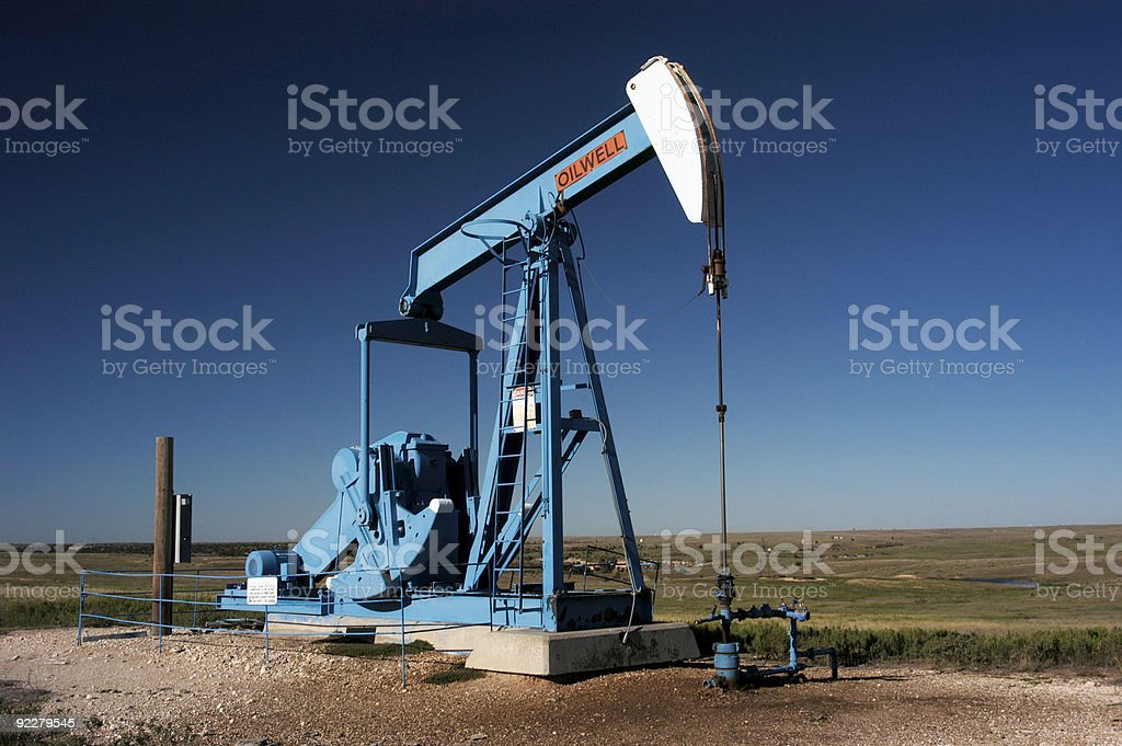 Oil well 96 royalty-free stock photo