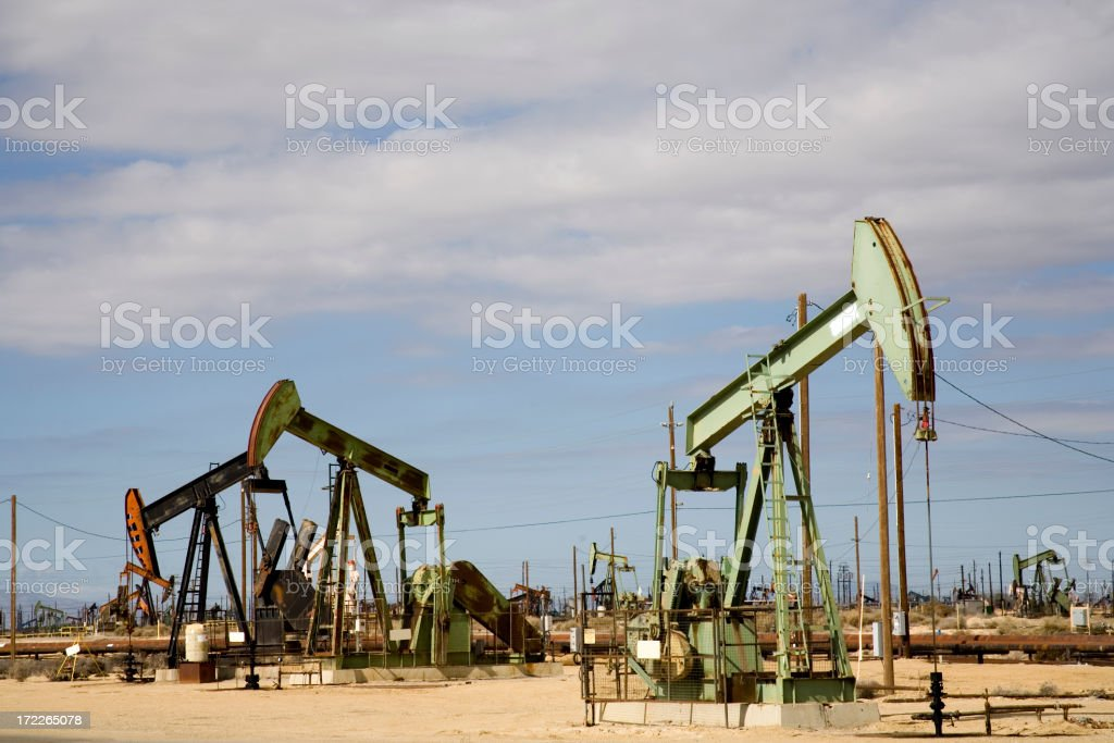 Oil Well royalty-free stock photo