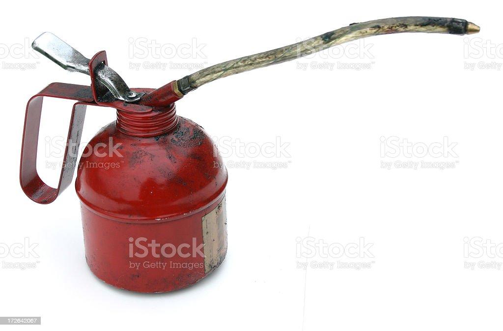 oilcan profile stock photo