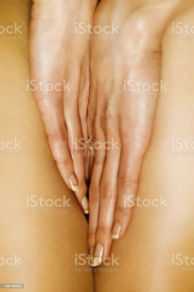 oiled royalty-free stock photo